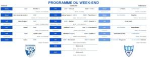 Programme du week-end du 1er février 2020