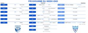 Programme du week-end du 8 février 2020
