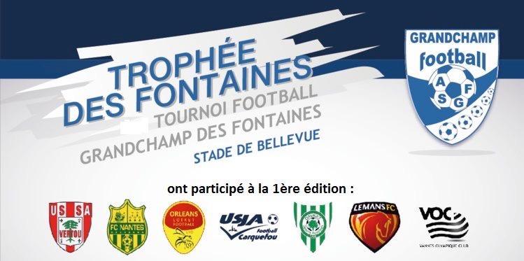 Prochaine Edition du Trophée des Fontaines