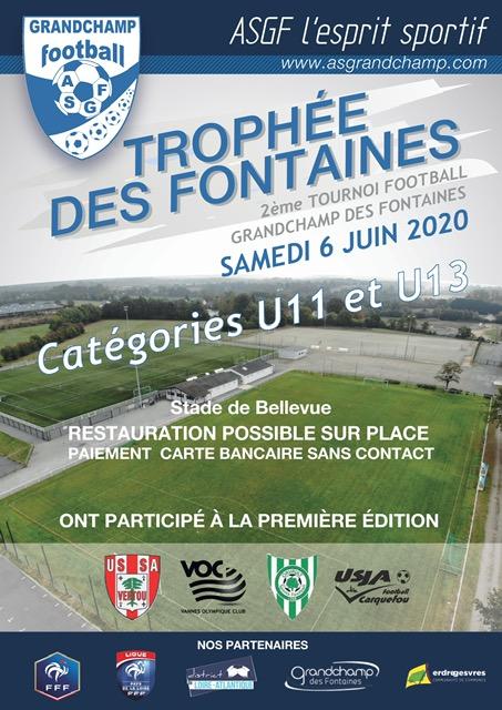 Trophée des Fontaines édition juin 2020