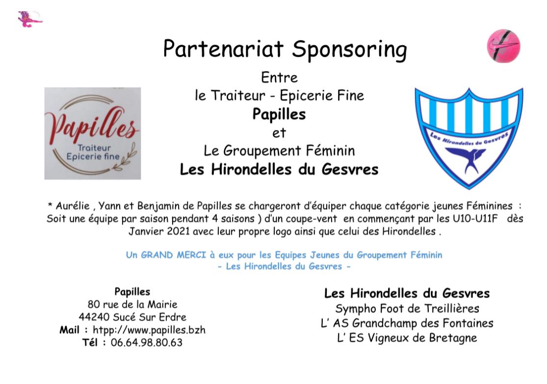 Partenariat Sponsoring