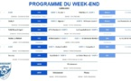 Programme du week-end du 25 janvier 2020 !
